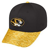 Adult Top of the World Missouri Tigers Lightspeed One-Fit Cap