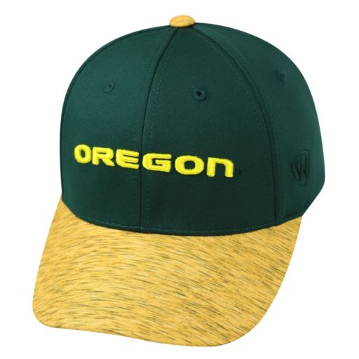 Adult Top of the World Oregon Ducks Lightspeed One-Fit Cap