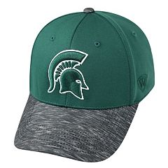 Adult Top of the World Michigan State Spartans Lightspeed One-Fit Cap