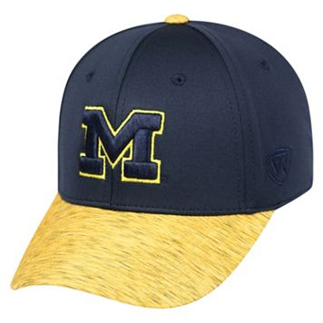 Adult Top of the World Michigan Wolverines Lightspeed One-Fit Cap