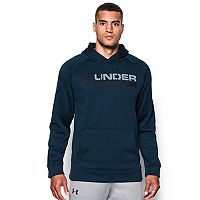 Men's Under Armour Wordmark Storm Fleece Hoodie