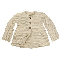 Toddler Girl Burt's Bees Baby Crochet Sweater