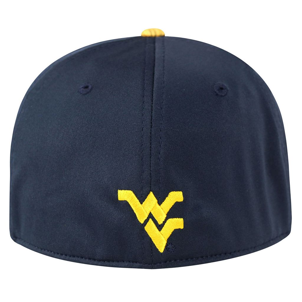Adult Top of the World West Virginia Mountaineers Lightspeed One-Fit Cap