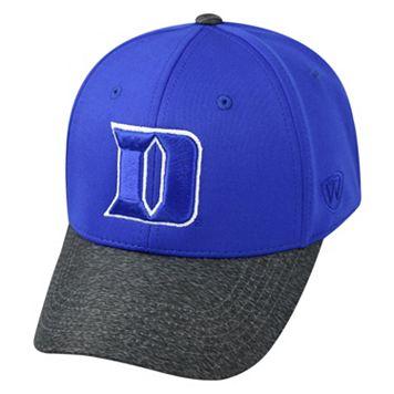 Adult Top of the World Duke Blue Devils Lightspeed One-Fit Cap