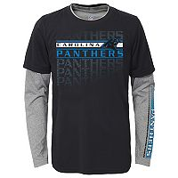 Boys 8-20 Carolina Panthers Interface Dri-Tek Tee Set
