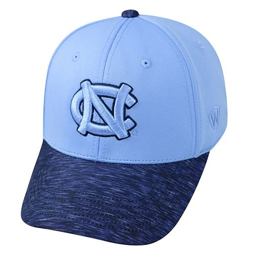 Adult Top of the World North Carolina Tar Heels Lightspeed One-Fit Cap