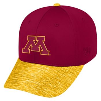 Adult Top of the World Minnesota Golden Gophers Lightspeed One-Fit Cap