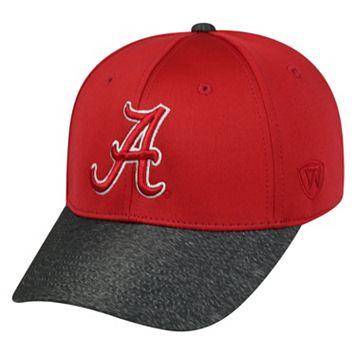 Adult Top of the World Alabama Crimson Tide Lightspeed One-Fit Cap