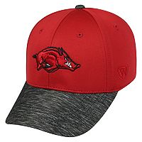 Adult Top of the World Arkansas Razorbacks Lightspeed One-Fit Cap