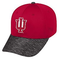 Adult Top of the World Indiana Hoosiers Lightspeed One-Fit Cap