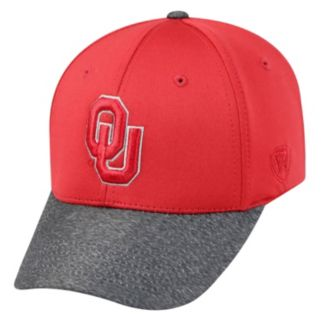 Adult Top of the World Oklahoma Sooners Lightspeed One-Fit Cap
