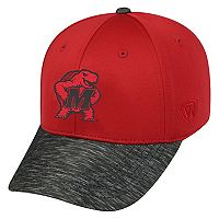 Adult Top of the World Maryland Terrapins Lightspeed One-Fit Cap