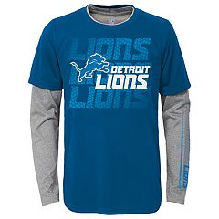Boys 8-20 Detroit Lions Interface Dri-Tek Tee Set