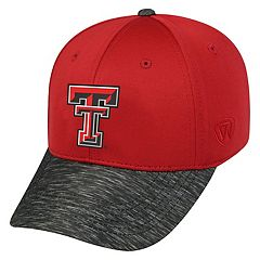 Adult Top of the World Texas Tech Red Raiders Lightspeed One-Fit Cap