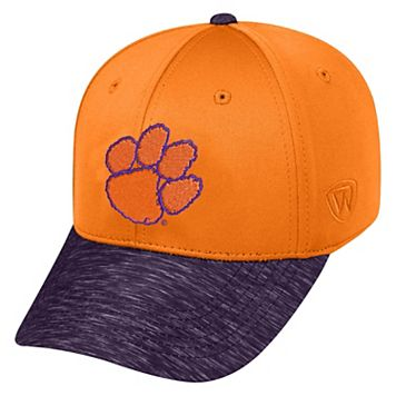 Adult Top of the World Clemson Tigers Lightspeed One-Fit Cap