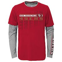 Boys 8-20 San Francisco 49ers Interface Dri-Tek Tee Set