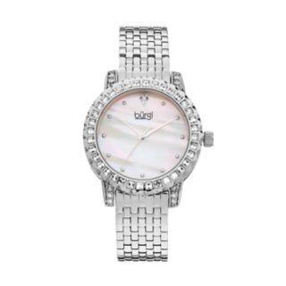 burgi Women's Crystal Watch
