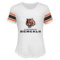 Girls 7-16 Cincinnati Bengals Team Pride Burnout Tee
