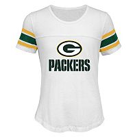 Girls 7-16 Green Bay Packers Team Pride Burnout Tee