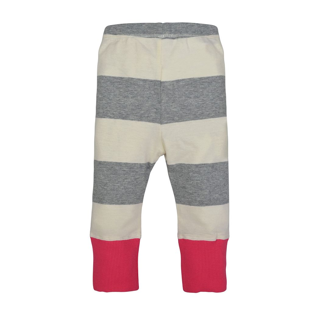 Toddler Girl Burt's Bees Baby Organic Striped Pants