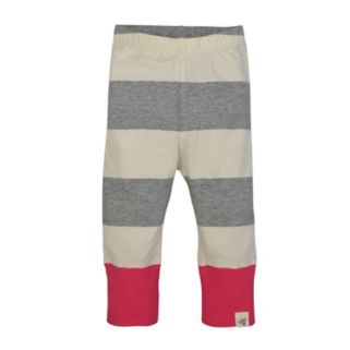 Toddler Girl Burt's Bees Baby Organic Striped Pants