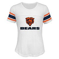 Girls 7-16 Chicago Bears Team Pride Burnout Tee