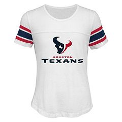 Girls 7-16 Houston Texans Team Pride Burnout Tee