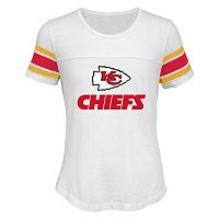 Girls 7-16 Kansas City Chiefs Team Pride Burnout Tee