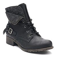 SO® Tablet Women's Combat Boots