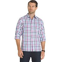 Men's Van Heusen Never Tuck Slim-Fit Button-Down Shirt