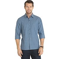 Men's Van Heusen Untucked Slim-Fit Button-Down Shirt