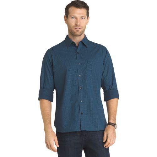 Men S Van Heusen Never Tuck Slim Fit Button Down Shirt