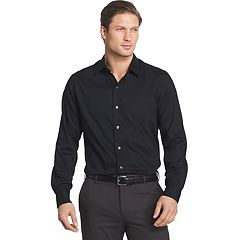 Men's Van Heusen Slim-Fit Striped Sateen Button-Down Shirt