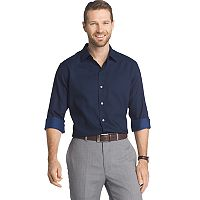 Men's Van Heusen Regular-Fit Dot Easy-Care Button-Down Shirt