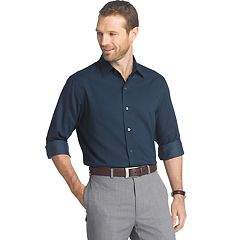 Men's Van Heusen Regular-Fit Dot Easy-Care Button-Down Shirt