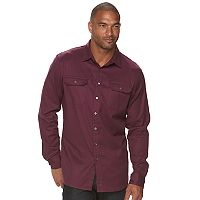 Big & Tall Apt. 9® Jaspe Premier Flex Slim-Fit Stretch Button-Down Shirt