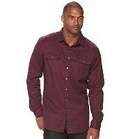 Big & Tall Apt. 9® Jaspe Premier Flex Slim-Fit Stretch Button-Down Shirt