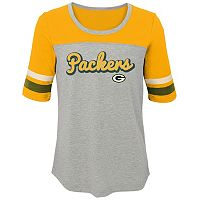 Girls 7-16 Green Bay Packers Fan-tastic Tee