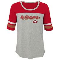 Girls 7-16 San Francisco 49ers Fan-tastic Tee