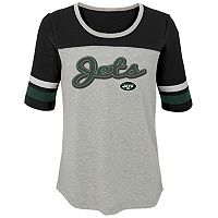 Girls 7-16 New York Jets Fan-tastic Tee