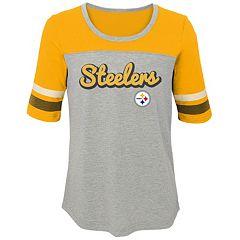 Girls 7-16 Pittsburgh Steelers Fan-tastic Tee