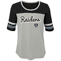 Girls 7-16 Oakland Raiders Fan-tastic Tee