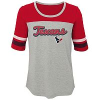 Girls 7-16 Houston Texans Fan-tastic Tee