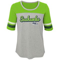 Girls 7-16 Seattle Seahawks Fan-tastic Tee