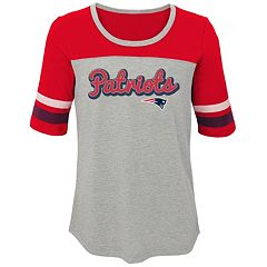 Girls 7-16 New England Patriots Fan-tastic Tee