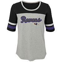 Girls 7-16 Baltimore Ravens Fan-tastic Tee