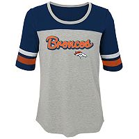 Girls 7-16 Denver Broncos Fan-tastic Tee
