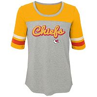 Girls 7-16 Kansas City Chiefs Fan-tastic Tee