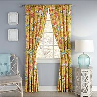 Waverly 2-pack Modern Poetic Window Curtain