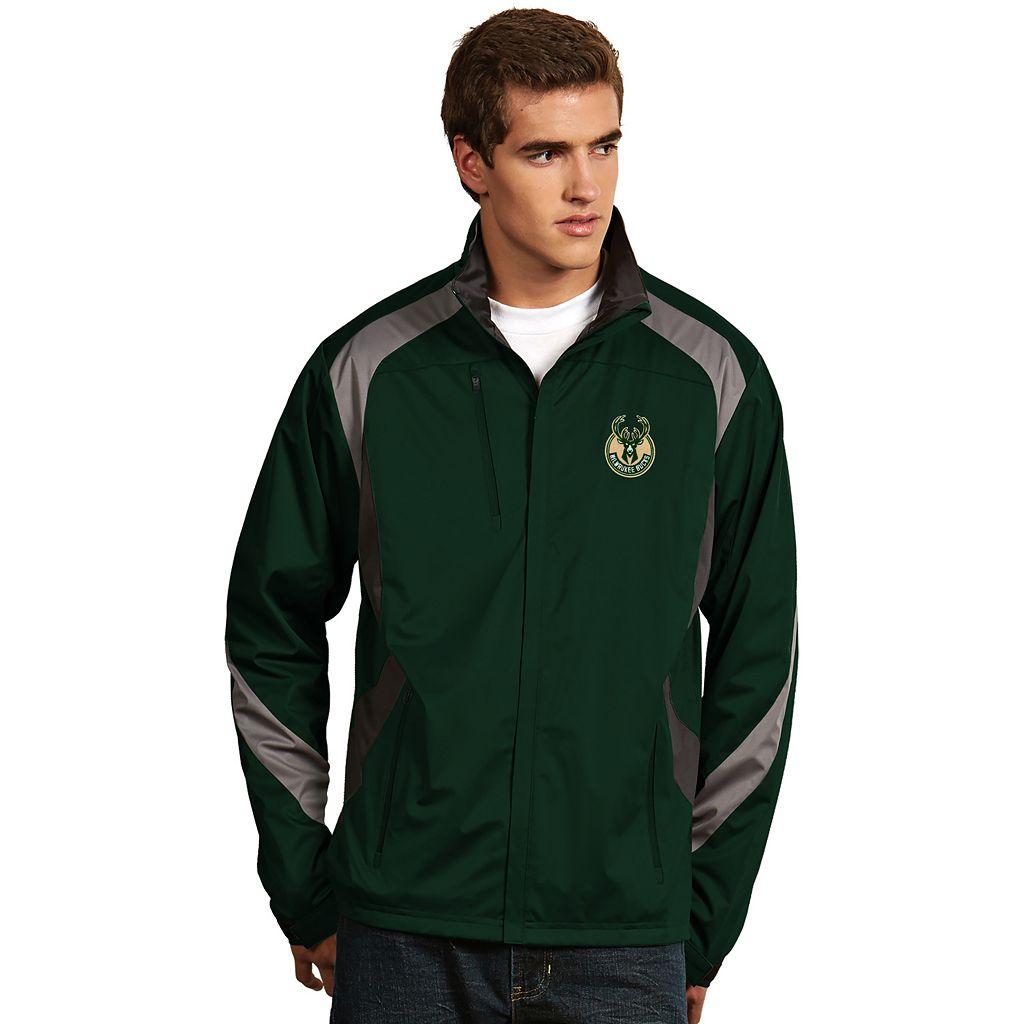 Men's Antigua Milwaukee Bucks Tempest Jacket